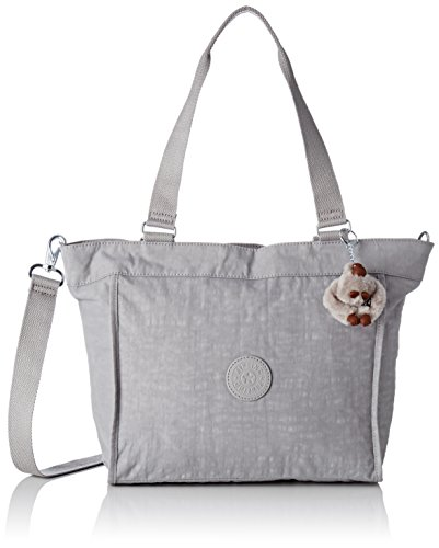 New Shopper Tote - Kipling New Shopper S, Women's Tote, Grau (Cloud Sky), 42x27x0.1 cm (B x H T)