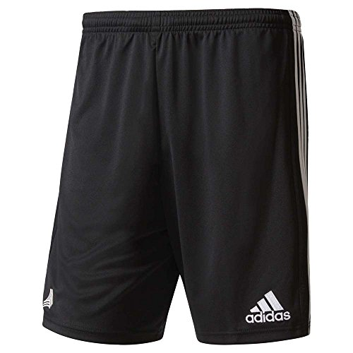 adidas Men's Tango Cage 3-Stripes Soccer Shorts (S, Black)