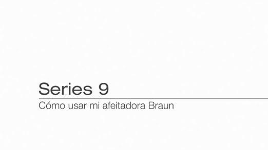 Braun Series 9 9030s - Afeitadora eléctrica, color gris: Amazon.es ...