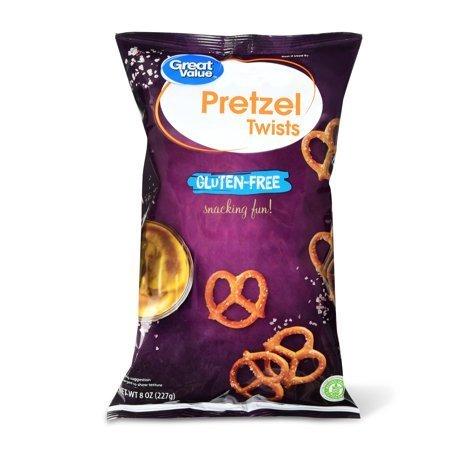 Gluten-Free Pretzel Twists, 8 oz delicious crunch certified gluten-free by Great Value