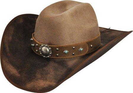 Bailey Western Female Renegade By Bailey Lorelei Western Hat Round Up 7 1/4 by Bailey Western