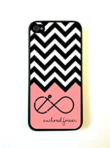 Anchored Forever Chevron Coral iphone 5c Case - For iphone 5c - Designer TPU ...