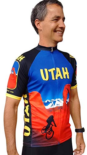 (Free Spirit Wear Utah Cycling Jersey XLarge )