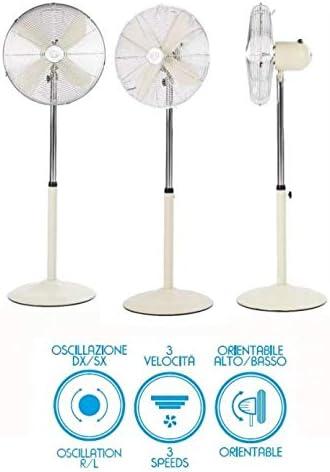 Bimar VP309 ventilatore Ventilatore domestico con pale Acciaio inossidabile Bianco