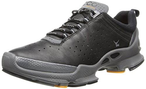 ECCO Women's Biom C 2.1 Running Shoe,Black/Black/Woodrose,41 EU/10-10.5 M US