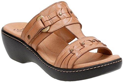Clarks Women's Delana Macrae Beige (Clarks Woven Sandals)