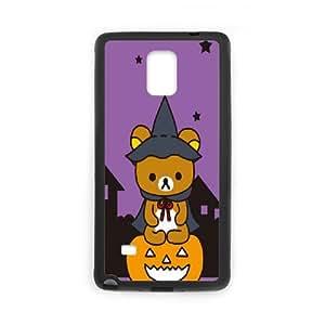 Custom Case Rilakkuma For Samsung Galaxy Note 4 N9100 LJS2629