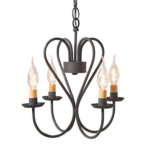 - Irvin's Tinware Small Georgetown Chandelier 14