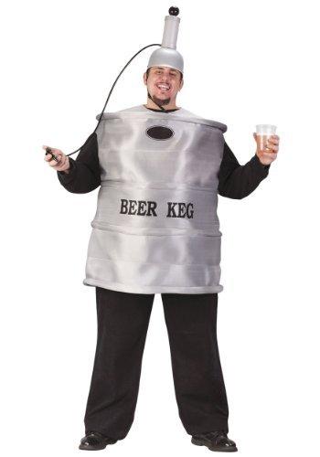 Beer Keg Plus Costumes (Beer Keg Adult Costume - Plus Size)