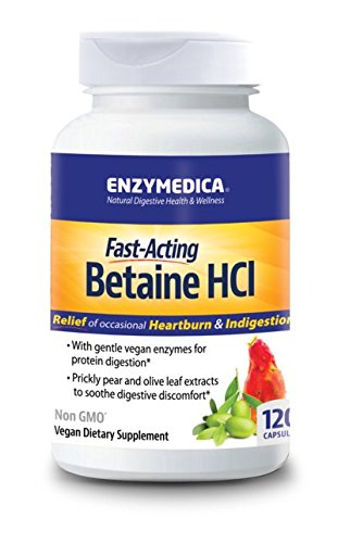 Enzymedica Betaine HCI 120 Capsules