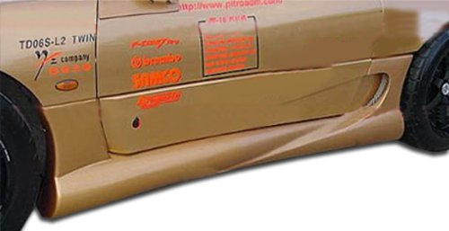 Duraflex Replacement for 1991-1999 Mitsubishi 3000GT Dodge Stealth Fighter Side Skirts Rocker Panels - 2 Piece