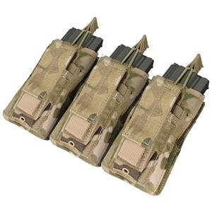 Triple Kangaroo Magazine Pouch - Color: Multicam