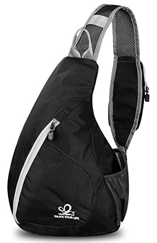 WATERFLY-Sling-Chest-Backpacks-Bags-Crossbody-Shoulder-Triangle-Packs-Daypacks-for-Cycling-Walking-Dog-Hiking-Boys-Girls-Men-Women
