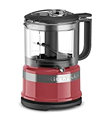 Kitchenaid Kfc3516wm 3.5 Cup Mini Food Processor, Watermelon