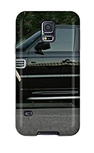 For Galaxy S5 Tpu Phone Case Cover(land Rover Art )
