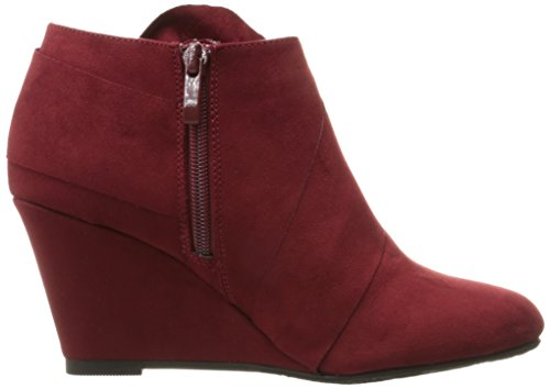 Bootie Chinese Vivid Laundry Cherry Ankle Women's CL by Suede Red xU7qwSYnZ