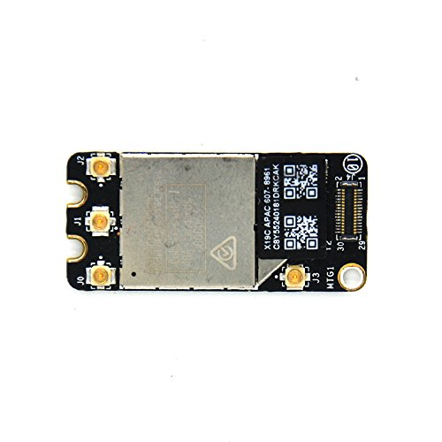 Padarsey Bluetooth WiFi Airport Card 4.0 for MacBook Pro A1278 A1286 A1297 607-7294 BCM94331PCIEBT4CAX 2011 2012 (not fit 2008 2009 2010 Year)