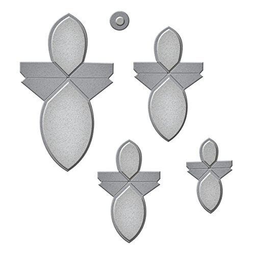 Spellbinders S3-251 Shapeabilities Round Flower Fold 'N Go Etched/Wafer Thin Dies -
