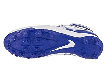 Nike Men's Huarache V Lax Game Royalwhitewhite Cleated Shoe 10 Men Us 3