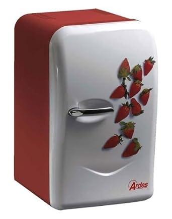 ARDES Mini Kühlschrank mit frischem Erdbeer Motiv TK 45 / F1 17 ...