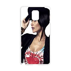 Samsung Galaxy Note 4 Cell Phone Case White Natalie Imbruglia GY9034570