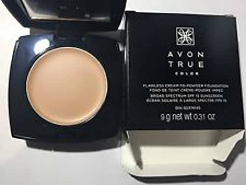 Avon True Color Flawless Cream to Powder Creamy Natural Foundation Makeup
