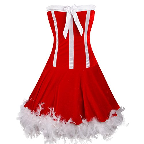 Miss  (Naughty Santa Girl Costume)