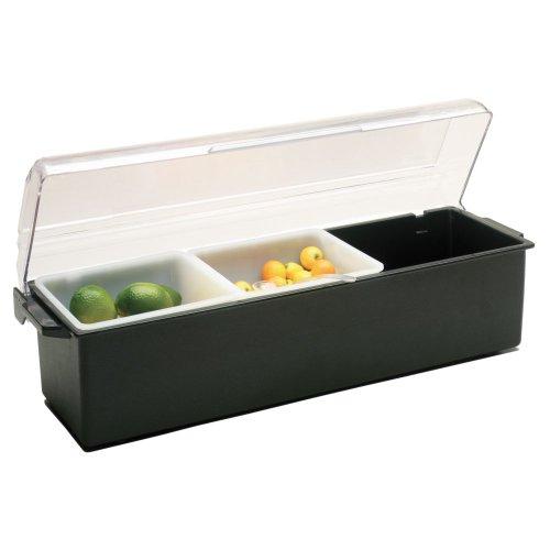 Traex 4742-06 Kondi-Keeper Black (3) 1 Quart Condiment (Kondi Keeper)
