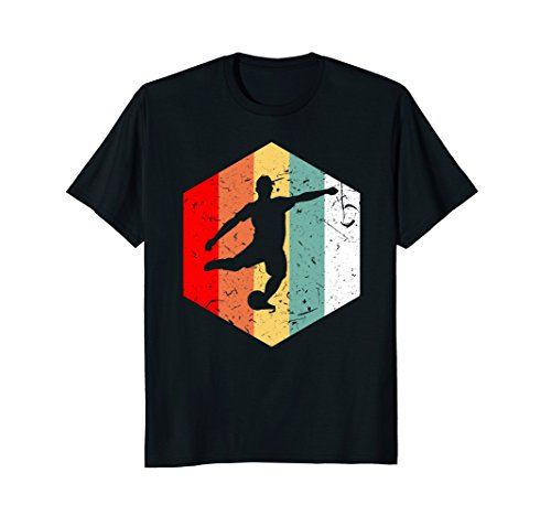 - Retro Vintage 70s Soccer T-Shirt Funny Sport USA Love Gift