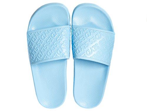 Femme Chance Slydes Slider Blue Sandales Pale BdQWrxECoe