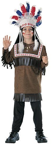 Rubies Cherokee Warrior Child Costume, Large