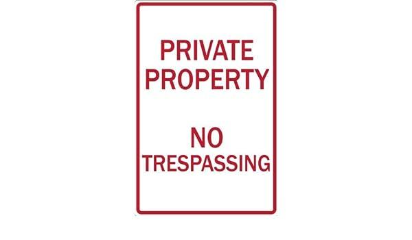 aersing Eco señal de prohibido aparcar, propiedad privada No ...