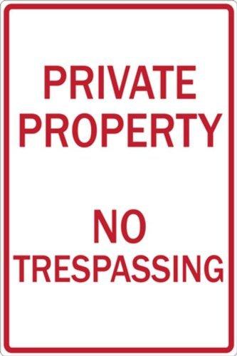 fhdnagfds Eco señal de prohibido aparcar, propiedad privada ...