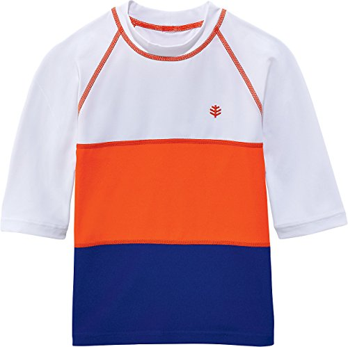 Coolibar Boys Colorblock Rash Guard product image