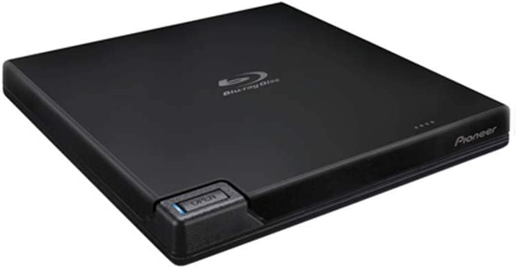 Pioneer BDR-XD07B 6X Slim Portable USB 3.0 BD/DVD/CD Burner