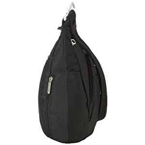 Travelon Anti-Theft Cross-Body Bucket Bag, Black, One Size