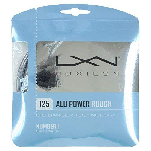 (Luxilon Big Banger Alu Power Rough 16L Tennis String Set)
