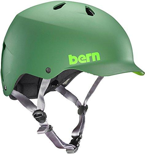 Bern Men's Watts Helmet Matte Leaf Green ()