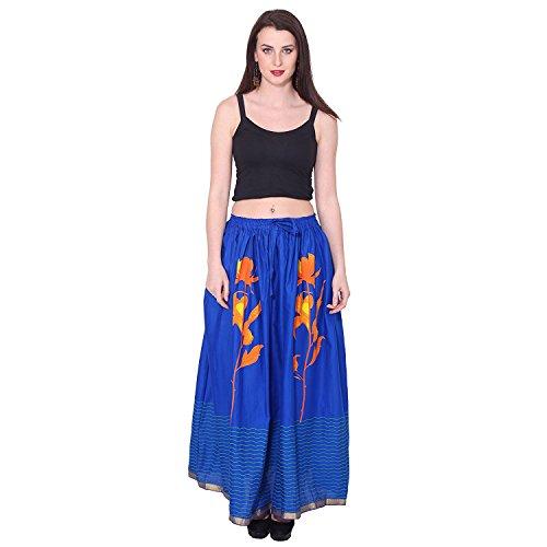 Skirt Printed Women's Cotton Handicrfats Indian Export qwXnzx1Ia