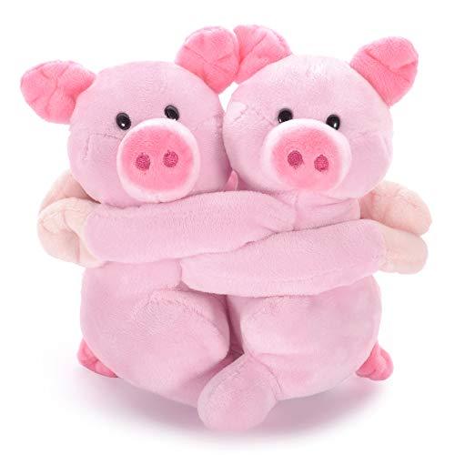 Lazada Pig Plush Piggy Hugging Toys Pink 7- Funny Lover/Wife/Girlfriend Boyfriend Gifts