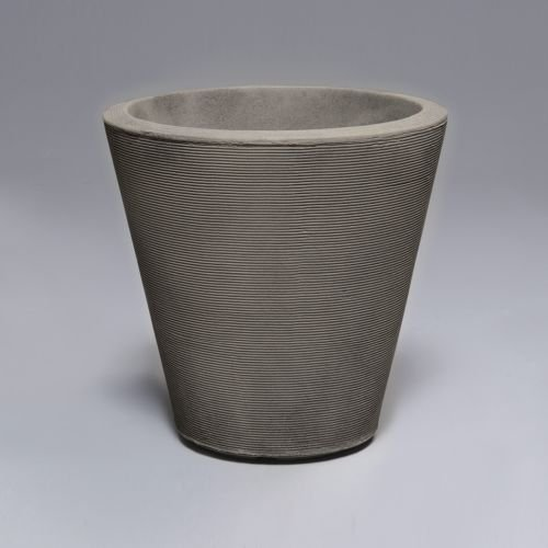 Latin Spirit EP-LSHAV-GRE-20 20 x 20 in. Havana Round Planter44; Greystone by Latin Spirit