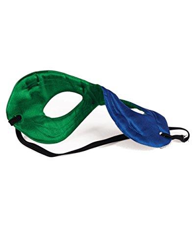 Forum Novelties Children's Superhero Reversible Eye Mask Blue/Green -