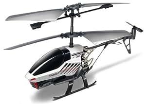 Silverlit 84601 Spy Cam II- Helicóptero radio control con cámara espía (3 canales, 2,4 GHz), color gris