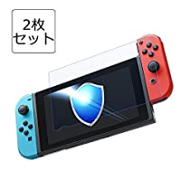 Nintendo Switch 保護フィルム-DOSMUNG(2枚セット)任天堂 Swi...