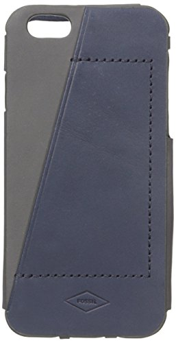 Fossil Men's Iphone 6 Navy Phone Case, One Size (Iphone 6 Fossil)