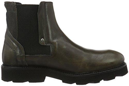 Yellow Cab Piston M, Zapatillas de Estar por Casa para Hombre Gris - Grau (Antracite)
