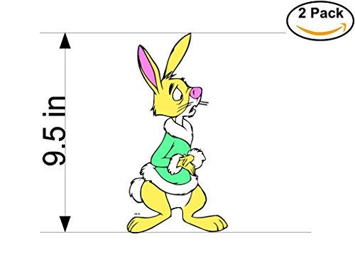Winnie the Pooh 2 Stickers 9.5 Inches Cartoon Car Bumper Window Sticker Decal 604