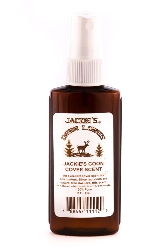 Jackies Deer Lures Coon Urine Cover Scent Sprayer, (Deer Cover Scents)