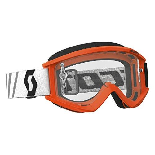 (Scott Sports USA Unisex-Adult Recoil Xi Goggles (Orange/Black/ Clear Works, One Size) )