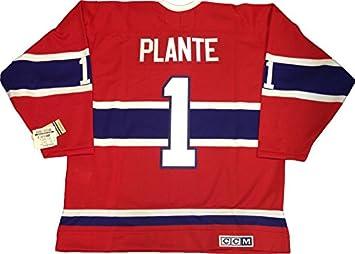 separation shoes 7053a 2dafc Jacques Plante Montreal Canadiens 1959 CCM vintage jersey ...